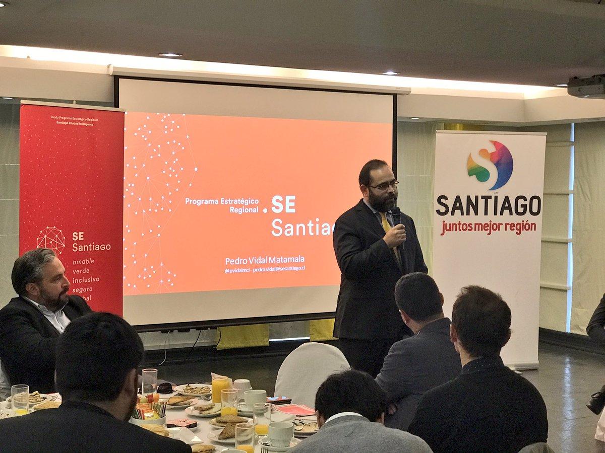 Corfo y País Digital presentan proyectos que buscan transformar la ciudad de Santiago