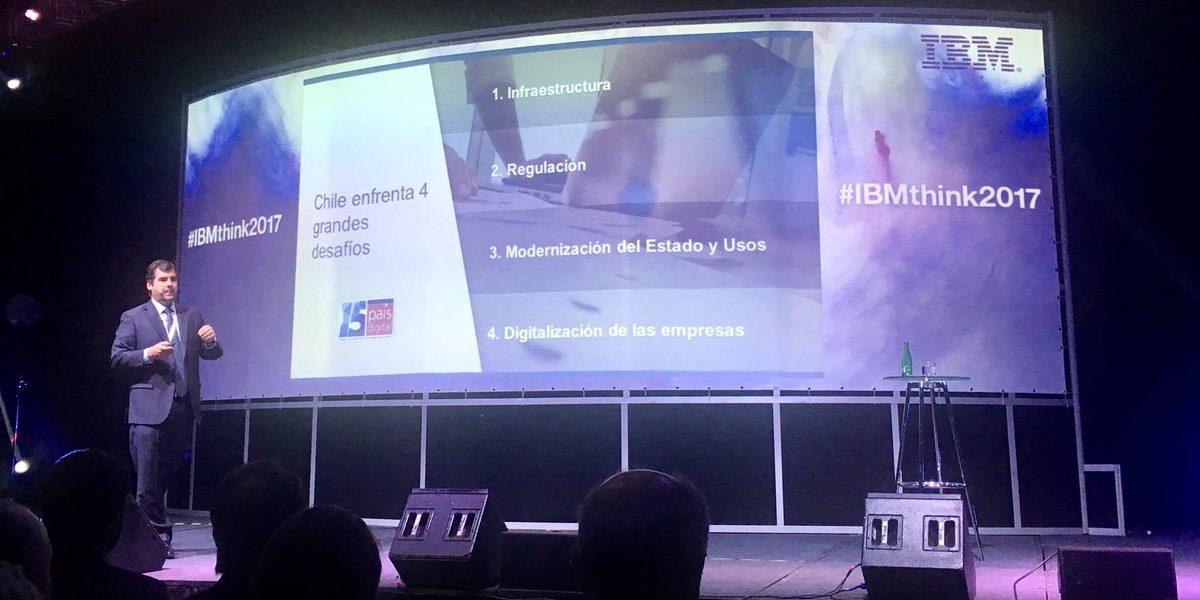 Destacada participación tuvo Pelayo Covarrubias en IBM Think 2017