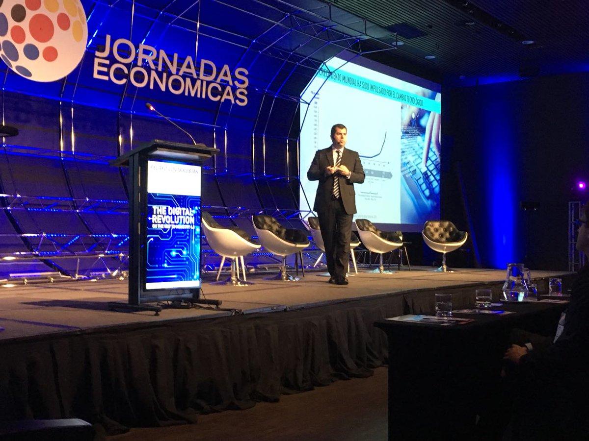 La importancia de los datos en la Revolución Digital fue el tema central de las Jornadas Económicas Chile Alemania 2017