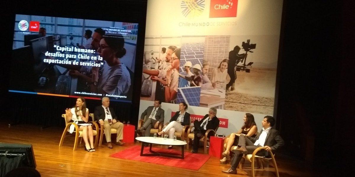 Pelayo Covarrubias participó en primer seminario internacional de exportación de servicios