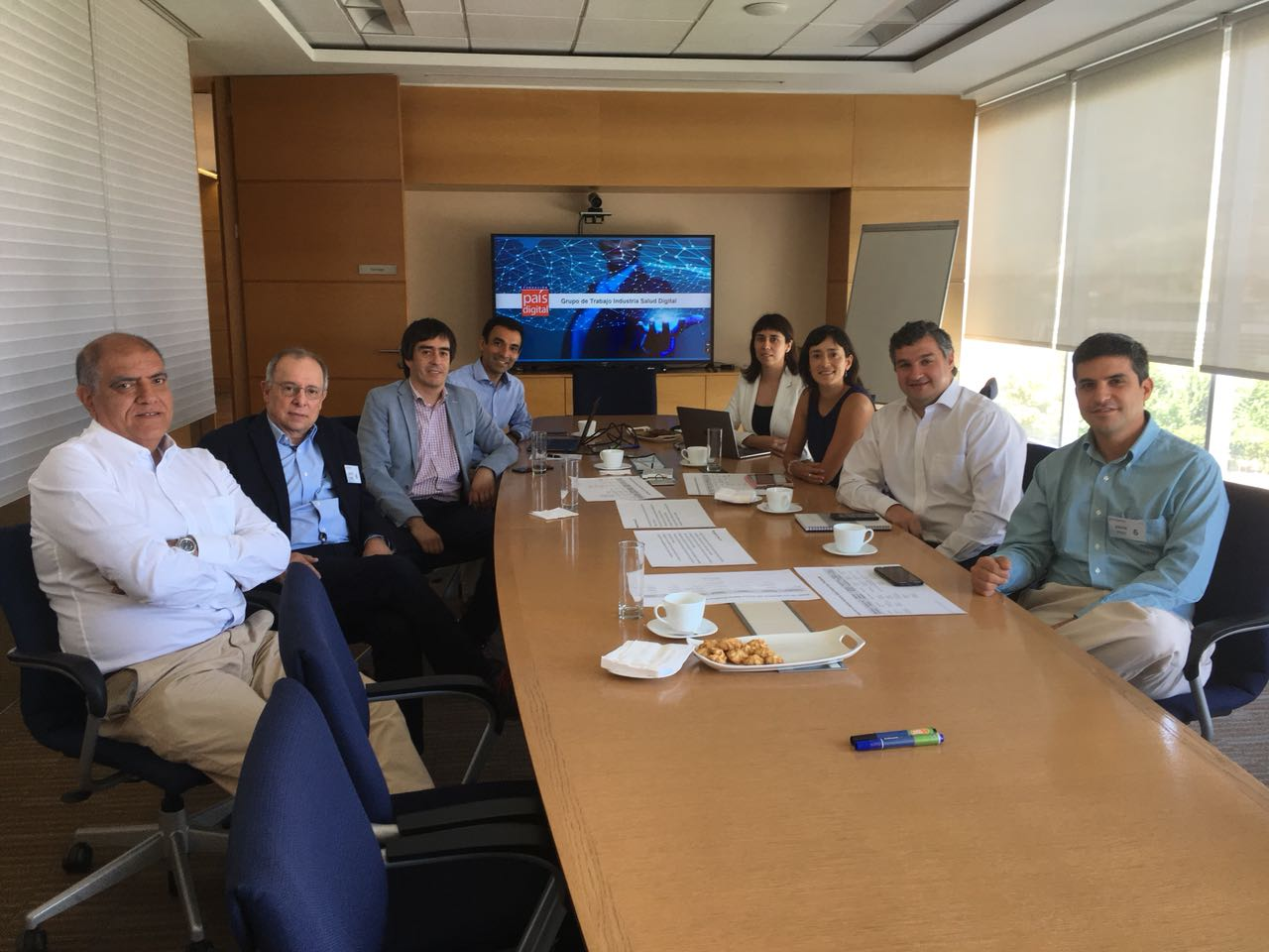 Se reúne por primera vez Grupo de Trabajo Industria de Salud Digital