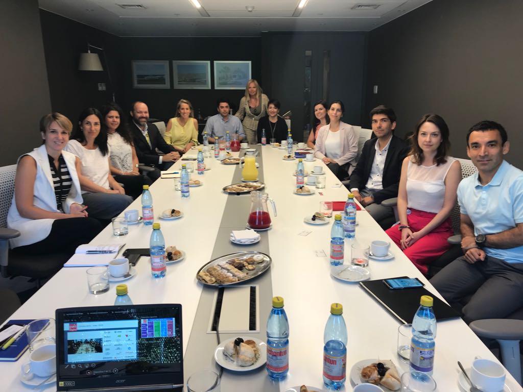 Nueva reunión de comunicaciones Fundación País Digital y socios