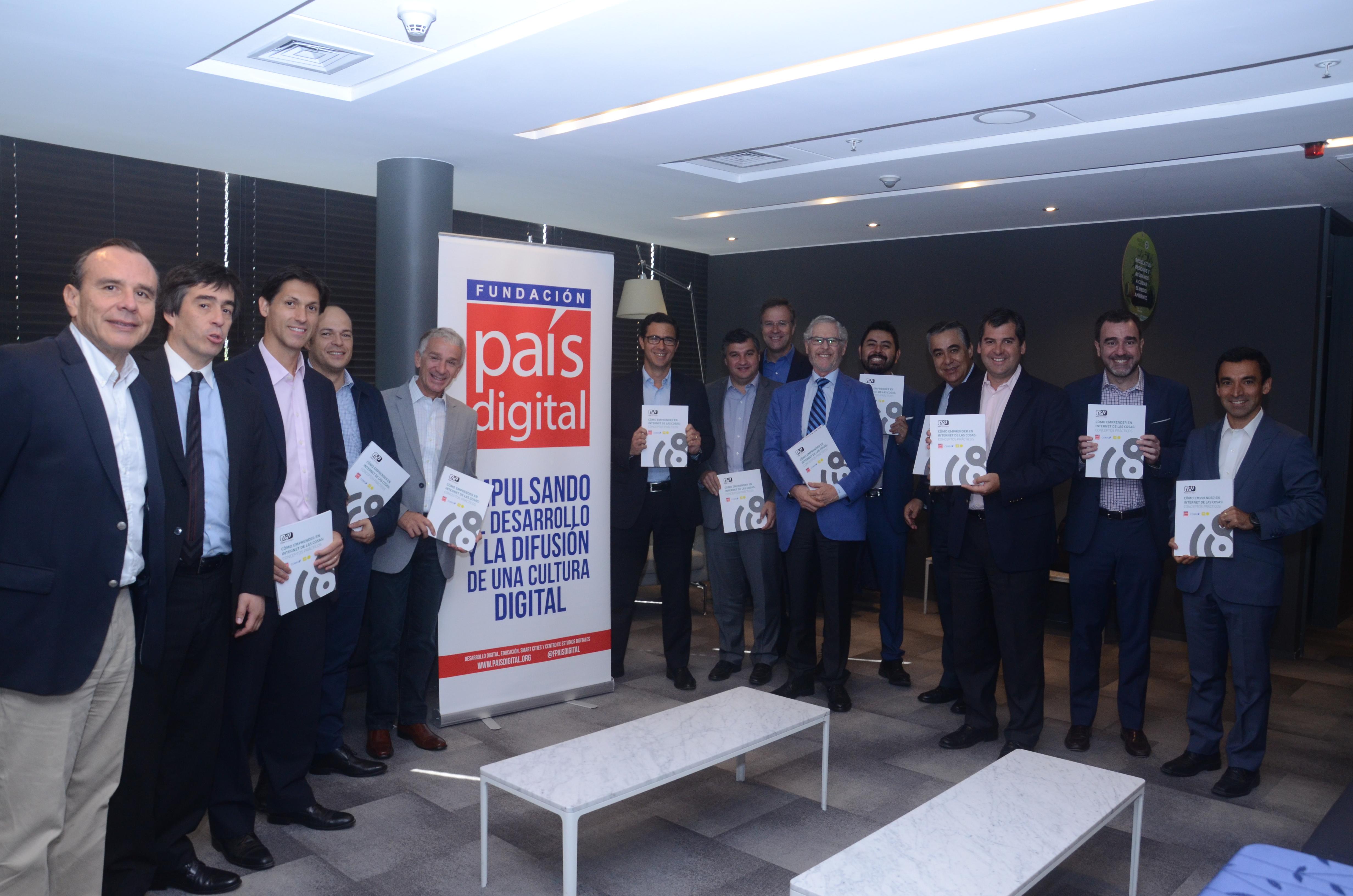 Fundación País Digital, con el apoyo de Corfo, lanzan libro con recomendaciones para aplicar Internet de las Cosas (IoT) en Pymes