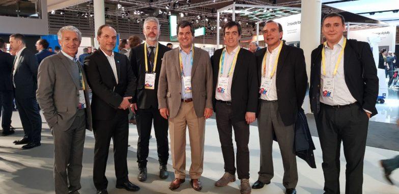 Fundación País Digital fue parte de la feria de tecnología móvil más importante del mundo
