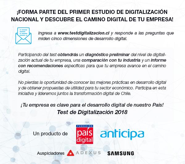 ¿Cuál es el nivel de digitalización de las empresas? Estudio dará a conocer la realidad en Chile