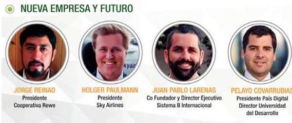 """Presidente de Fundación País Digital expuso en #Enela2018 en panel """"Nueva empresa y futuro"""""""