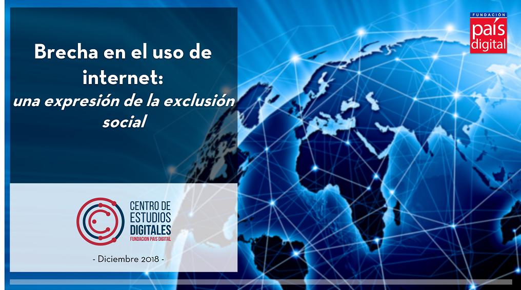 Brecha en el uso de Internet: una expresión de la exclusión social