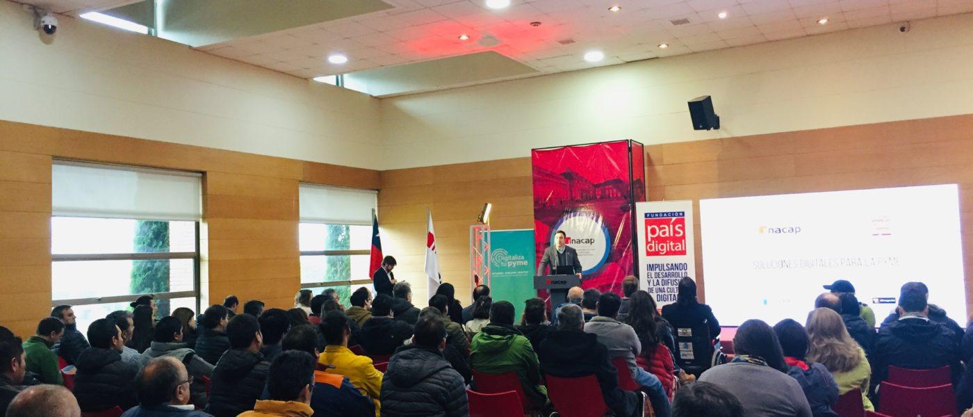 170 Pymes de Temuco aprenden cómo dar sus primeros pasos en el mundo digital