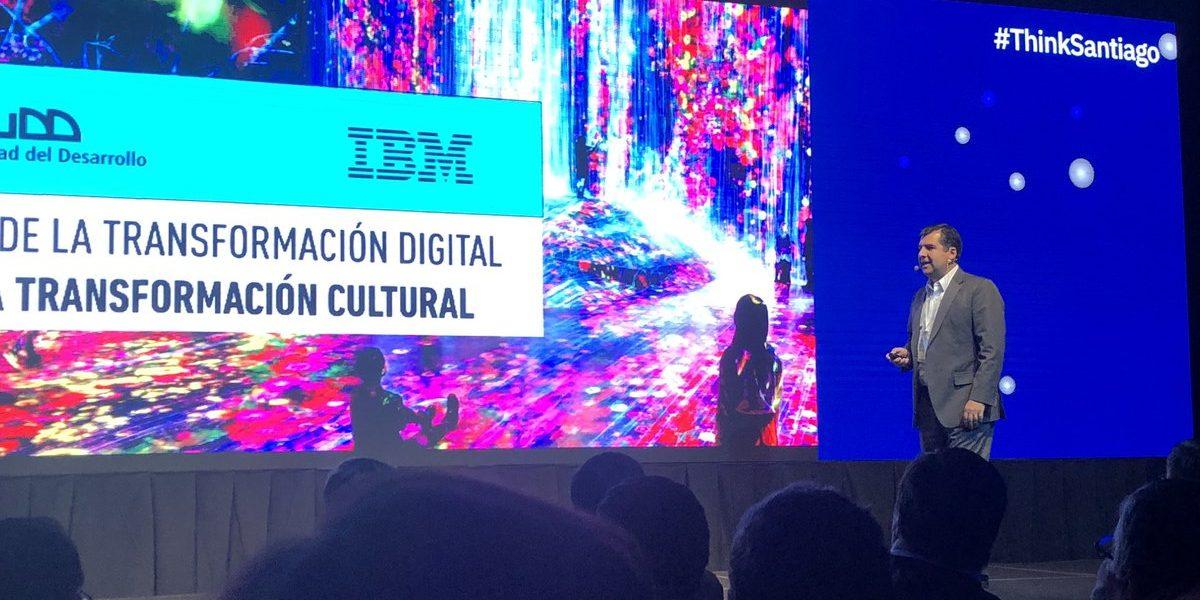 «La transformación digital, no es digital, es cultural» Pelayo Covarrubias en Think Santiago de IBM